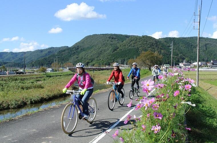 【自転車でゆったりと真庭巡り】真庭で散走サイクリング2020