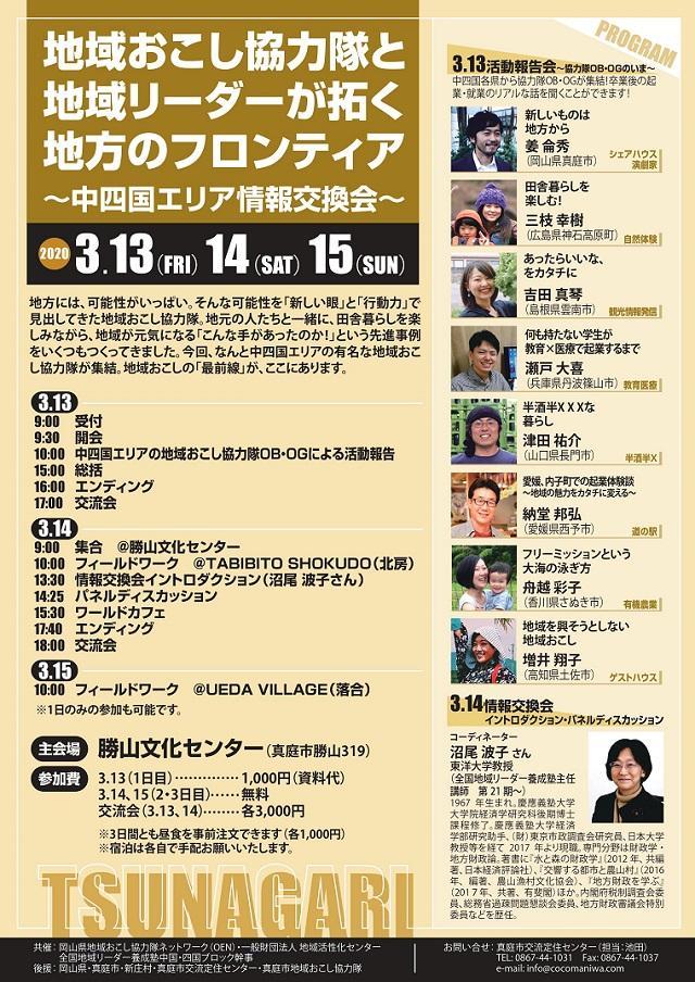 地域リーダーが拓く地方のフロンティア~中四国エリア情報交換会~開催!