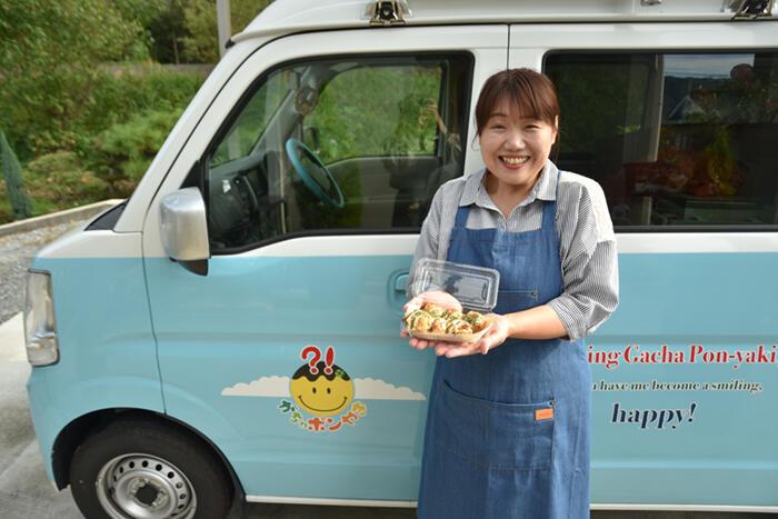 【真庭びと⑤〜池本顕子さん〜】移住者、ではない肩書き。「がちゃポンやき」というアイデアを事業化していくまで。