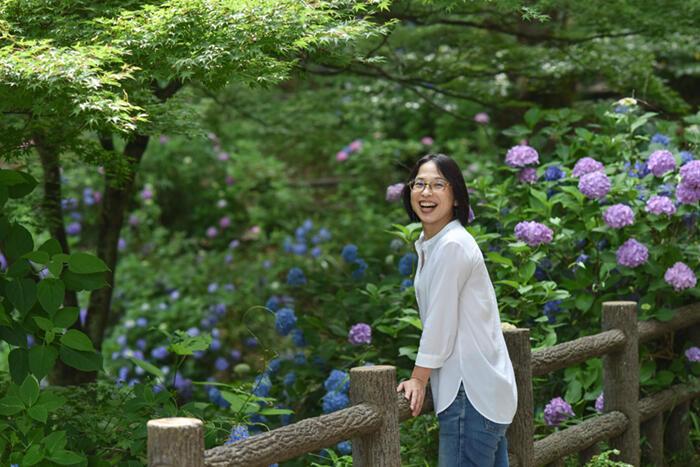 【真庭びと⑨〜片川佳子さん〜】Uターンしてから、毎日が楽しいのは、都会での人生経験が生かされているから。